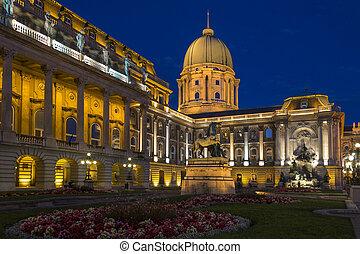 Buda Castle - Budapest - Hungary - Buda Castle or the Royal...