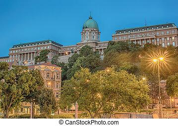 Buda Castle (Budapest, Hungary)