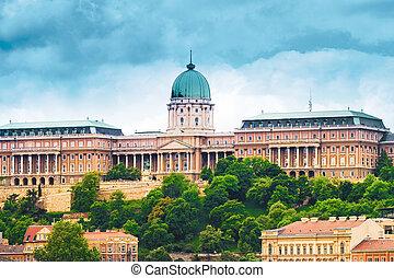 Buda Castle - Budapest, Hungary - landmark, tourist...