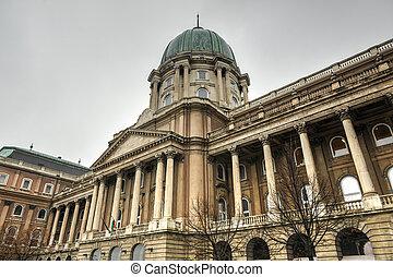 Buda Castle - Budapest, Hungary - Budapest, Buda Castle is...