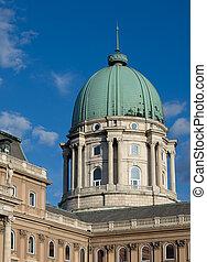 Buda Castle - Castle of Buda in Budapest, architectural...