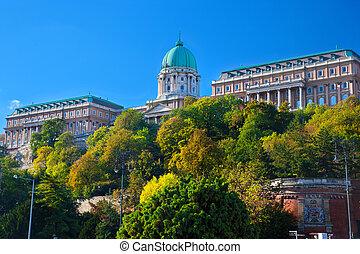 Buda Castle in Budapest, Hungary - Buda Castle on Buda...