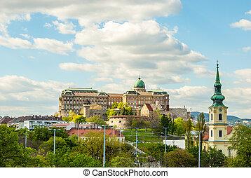 Buda Castle in Budapest