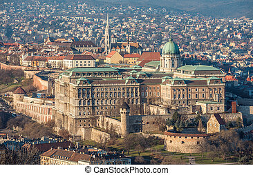Royal Palace in Budapest, Hungary