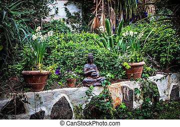 Japon bouddha jardin zen photographies de stock rechercher photo clip art csp13798796 - Buda jardin ...