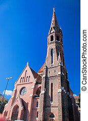 Buda Reformed Church. Budapest, Hungary