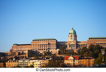 Buda Royal castle in Budapest, Hungary