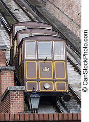 Budapest Castle Hill Funicular in Hungary