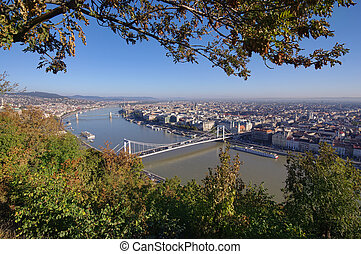Budapest cityscape in day. Hungary