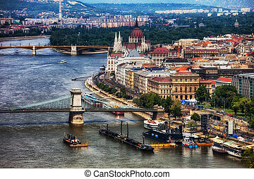 Budapest Cityscape in Hungary