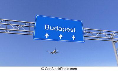 budapest, commerciale, interpretazione, ungheria, arrivare,...