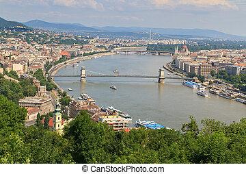 Budapest Danube Panorma, Hungary