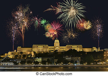 Budapest Firework Display - Hungary