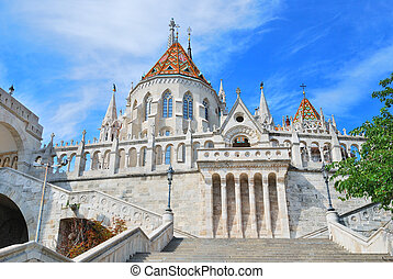 Budapest. Fisherman's Bastion and  St. Matthias church