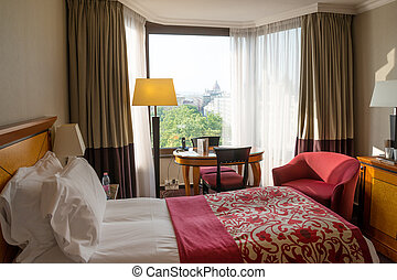 Budapest hotel - Luxury hotel room in Budapest with ...
