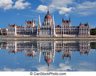 Budapest - Hungarian parliament.