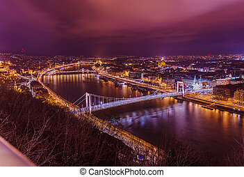 Budapest Hungary cityscape - architecture background