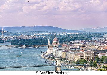 Budapest Hungary, Danube river
