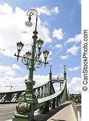 budapest, hungary, liberty bridge