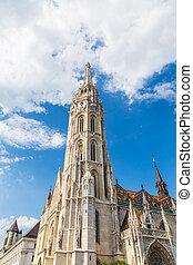 Budapest Hungary, Matthias Church