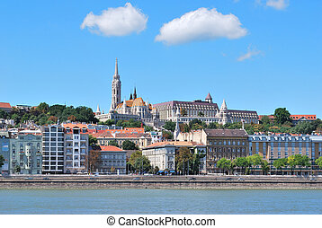 Budapest, Hungary. View of Buda