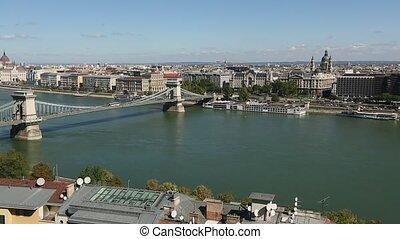 Budapest, Hungary. View of Danube
