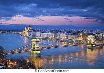 Budapest. - Image of Budapest, capital city of Hungary,...