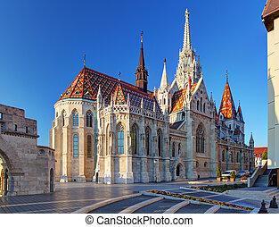 Budapest - Mathias church, Hungary