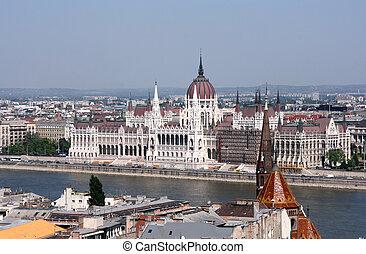 budapest, -, parlamento