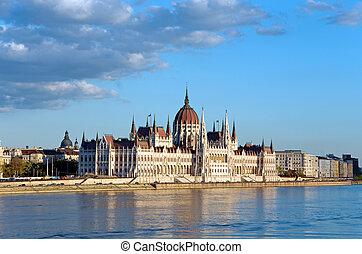 budapest parliament danube