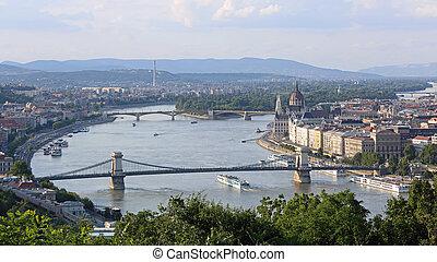 budapest, rivière danube