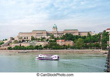 Budapest Royal Castle. Hungary.