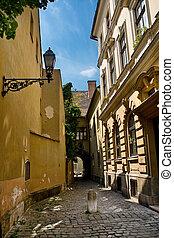 budapest, rua, antigas