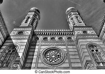 budapest, sinagoga