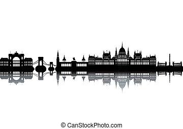 budapest, skyline
