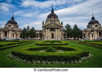 Budapest Szechenyi thermal.