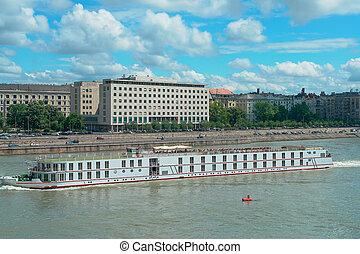 Budapest, the Danube River embankment, Hungary