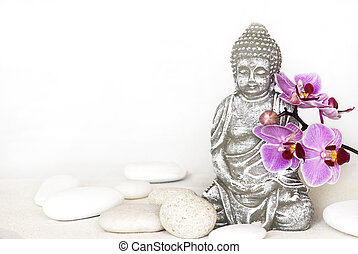 budda, orchidea