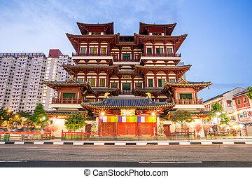 budda, singapore, reliquia, tempio, dente