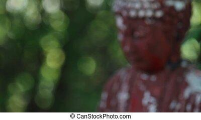 Buddah Statue - buddah statue in garden