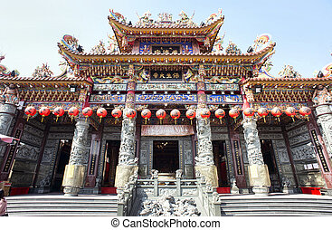 Buddest Temple in Kaohsiung,Taiwan.