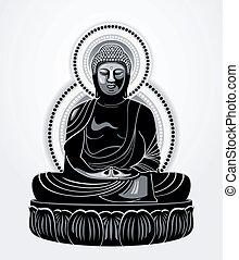 Buddha Amitabha (The Buddha of Infinite Light)