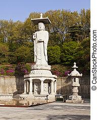 Buddha at Bongeunsa Temple