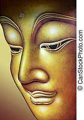 buddha - Buddha figure with texture blending process