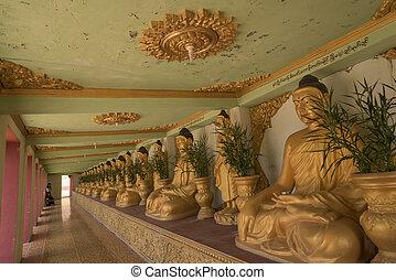 buddha, do, ta, budova