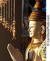 buddha, estátua