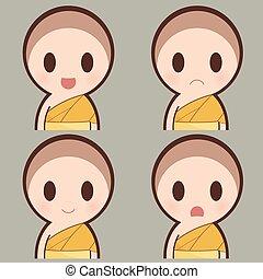Buddha expression