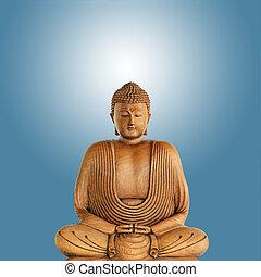 buddha, ilustración