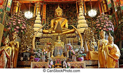 Buddha image - The Buudda image it\\\'s in the temple.