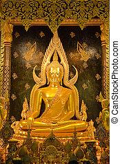 buddha, imagem, tailandia